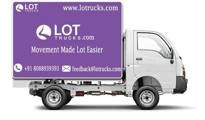 Hire Mini Truck for Rent – +918088939393