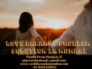 Love Breakup Problem Solution in Mumbai – Call@ +91-9501429952