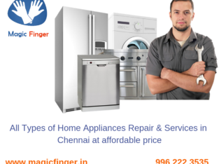 All type of Home Appliances Services MagicFinger