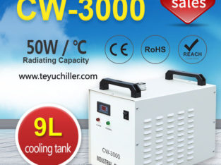 Small Water Chiller CW3000 for CNC Spindle