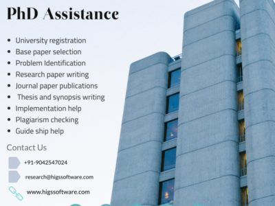 PhD assistance- HIGS