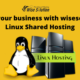 Grow your business with wisesolution Linux Shared