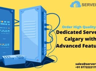 Order Fastest and Secure Dedicated Server Calgary