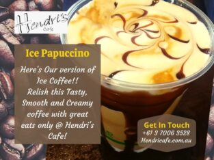 Cafe Restaurant in Richmond | Hendricafe.com.au