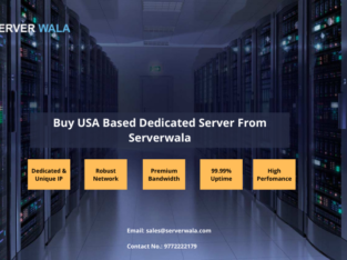 Buy USA Based Dedicated Server From Serverwala
