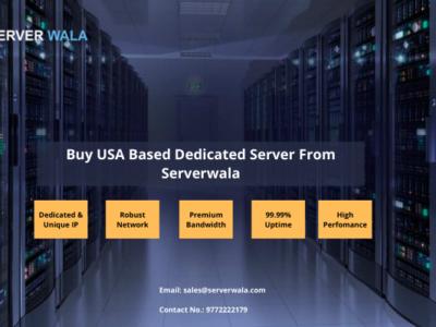 Buy USA Based Dedicated Server From Serverwala