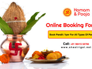 Book Pandit For All Poojas & Homam – Online Puja S