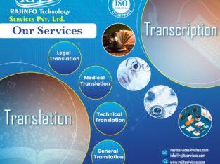 Transcription Service Company in India