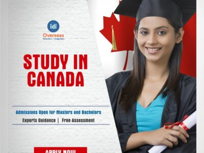Fly to study in Canada with IDI Overseas Education