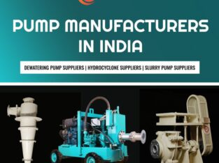 High Quality Dewatering Pump Manufacturers