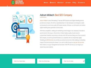 Website Design & Development Company – Astrum Infotech
