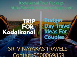 Kodaikanal Local Tour Package with Kodaikanal sightseeing tour Operators