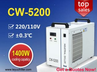 Recirculating Water Chiller CW5200 for co2 laser