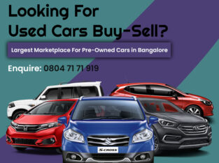 Used Cars in Bangalore – Second Hand Cars for Sale