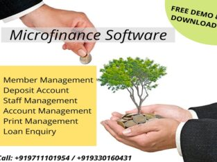 Software for Microfinance Companies in India