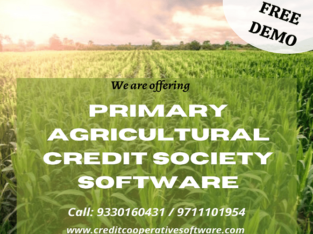 Primary Agricultural Cooperative Society software