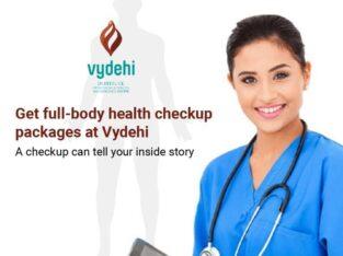 Get Full Body Health Checkup At Vydehi Hospital