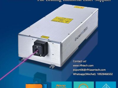 15W UV laser is used in PCB QR code laser drilling