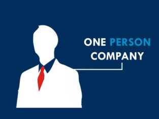 How to register one person company